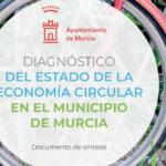 Presentamos junto a José Ballesta y Mercedes Bernabé el Diagnóstico del estado de la economía circular en el municipio de Murcia